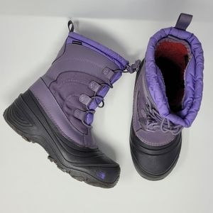 The North Face Girls Alpenglow Winter Boots Size 5